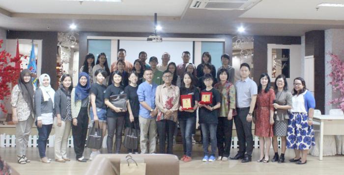UNPRI Menjamu Mahasiswa  Shih Chien University Taiwan