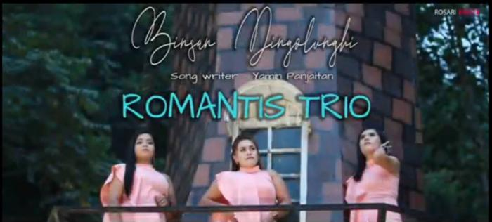 Lirik Lagu Batak : Binsan Dingolunghi | Romantis Trio