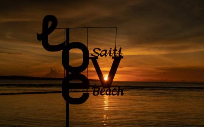 Pesona Indah Saiti Beach Di Nias Utara