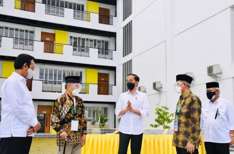 Presiden Jokowi Tinjau Sejumlah Infrastruktur di Madrasah Mu'allimin Muhammadiyah Yogkakarta