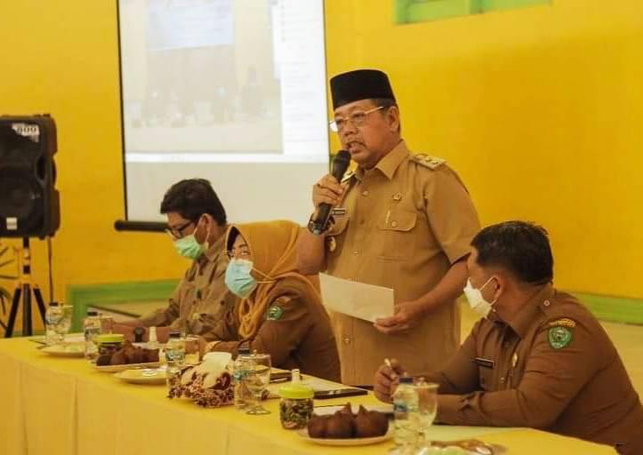 Wakil Walikota Sidimpuan Ikuti Penyusunan DDDTLH Provsu