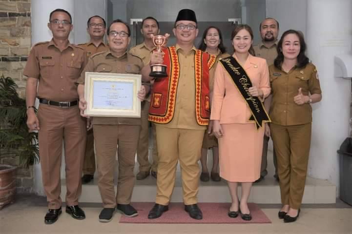 Pemerintah Kota Gunungsitoli Terima Anugerah Parahita Ekaparya Dari Kementerian PPPA