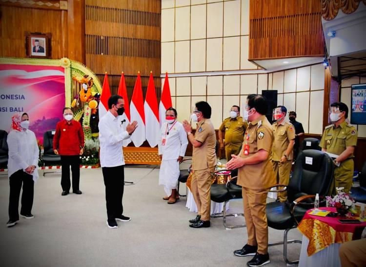 Penerbangan Internasional Dibuka, Presiden Pastikan Kesiapan Seluruh Aspek di Bali