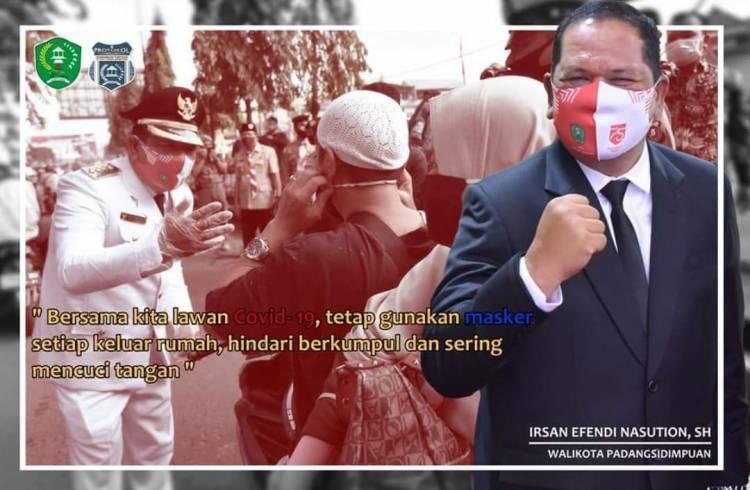 Pemko Padang Sidempuan Bersinar Hadapi Pandemi Covid 19