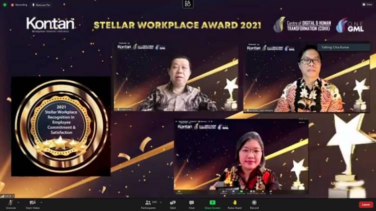 Multi Bintang Indonesia Kembali Raih Stellar Workplace Award